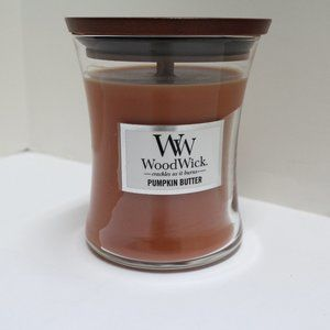 WoodWick Pumpkin Butter 9.7 oz Glass Jar Candle